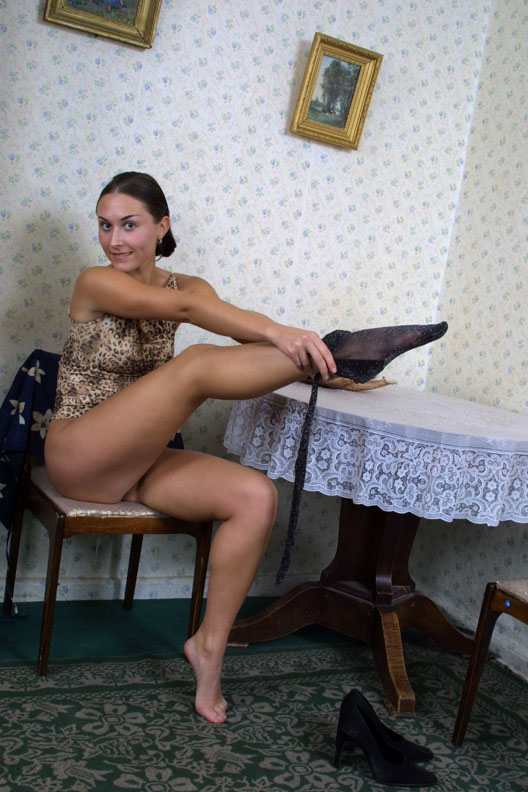 Emma With exclusive pantyhose content go haven't