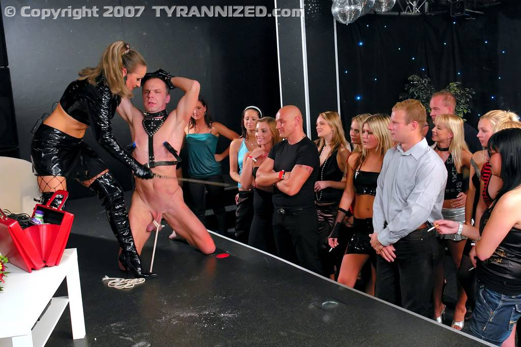 image Public disgrace bdsm and humilation in group 6